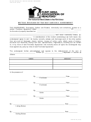 Form 35 - Mutual Release Of The Buy And Sell Agreement Template