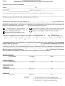 Form Hc-91 - Permission To Perform Contract Work On Private Land