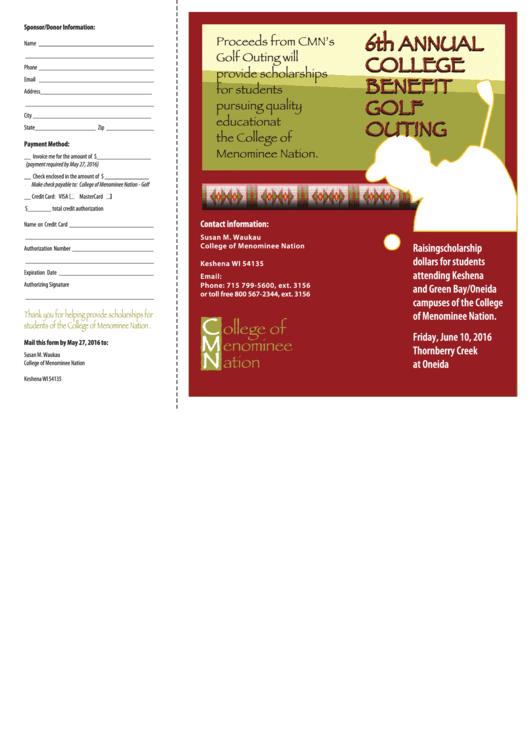 Partnership / Donation Form