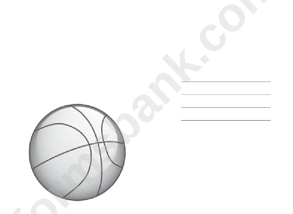You Are Invited Basketball