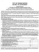 Estimated Income Tax Computation Worksheet & Payment Record - City Of Grand Rapids, Michigan Income Tax Department
