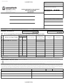Form Rtc-131 - Gross Receipts Tax Report Private Bankers - Pennsylvania Department Of Revenue - 2008