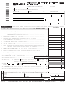Form Nyc-202s - Unincorporated Business Tax Return For Individuals - 2011