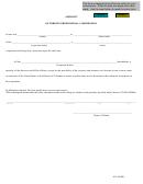 Affidavit Of Foreign Professional Corporation Form