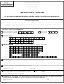 Dental Hygiene Form 3 - Certification Of Licensure - The State Education Department