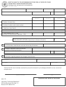 Form Sfn 19436 - North Dakota Telecommunications Relay Service Fund Quarterly Surcharge Return