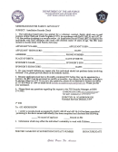 Af Form 3429 - Memorandum For Family Advocacy