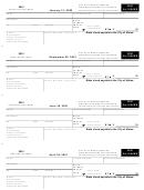 Form Al-1040es - Estimated 2001 Individual Income Tax Voucher - City Of Albion - 2001