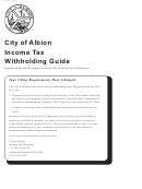 Form Albion 3102 - Notice Of Change Or Discontinuance For Albion City Taxes