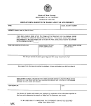 Form C-4267 - Employee's Substitute Wage And Tax Statement