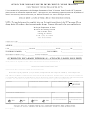 Form Bfs-152 - Application For Basic Driver Improvement Course Program Electronic Funds Transfer (eft) - Michigan Department Of State