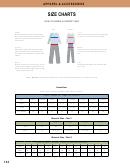Size Charts - Maryland Correctional Enterprises