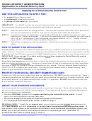 Form Ss-5 - Application For A Social Security Card - Social Security Administration