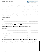 Capital Consortium - Business Information Form