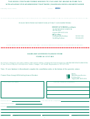 Form 941/c1c-me - Name And Address Change Form - 2004