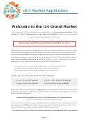 2017 Market Application - Form