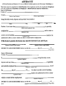 Form Ds92-95 - Affidavit Of Parents/guardian And Employer Of 15-year-old Driver's License Applicant Under Mississippi's Hardship Law