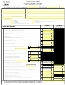 Form Nj-1065 - New Jersey Partnership Return - 2000