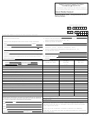 Form Dr-405 - Tangible Personal Property Tax Return 2001