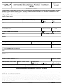 Form 3881-a - Ach Vendor/miscellaneous Payment Enrollment - Hctc - 2017