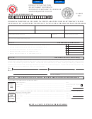Form Ga-8453 - Georgia Individual Income Tax Declaration For Electronic Filing Summary Of Agreement Between Taxpayer And Ero Or Paid Preparer - 2012