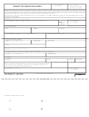 Dd Form 372 - Request For Verification Of Birth