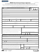 Adult Abroad General Passport Application For Canadians 16 Years Of Age Or Over Applying Outside Of Canada And From The Usa