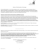 Form Gr-10671-22 - Notice Of Continuation Of Coverage - The Hartford - Portability And Conversion Unit