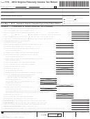Form 770 - Virginia Fiduciary Income Tax Return - 2012
