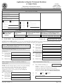 Form I-485 - Application To Register Permanent Residence Or Adjust Status - Department Of Homeland Security