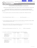 Form 21-006e - Questionnaire 21-006 Service Activies In Iowa For A Corporation, Partnership Or Llc