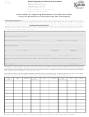 Form Ccl.027 - Authorization For Dispensing Medications To Children And Youth Long-term Medications (prescription And Non-prescription)