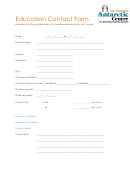 Education Contact Form
