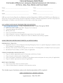 Aer Form 600 - Commander's Referral Program Application For Army Emergency Relief (aer) Financial Assistance