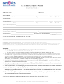 Self-employment Form