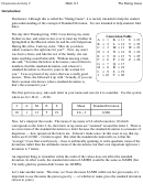 Intro To Applied Stats Worksheet