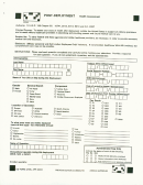 Dd Form 2796 - Post-deployment Health Assessment