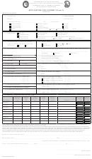 Form Dnr 5619 - Application For A Permit