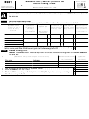 Form 8863 - Education Credits (american Opportunity And Lifetime Learning Credits) - 2011