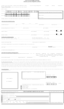 Form Pa-1 - Passport Application Form - Palau Passport Office