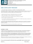 Bbb Complaint Form
