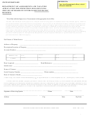 Form Sdat-4b1 - Application For Exemption For Surviving Spouses Of Disabled Veterans Receiving Dic Benefits
