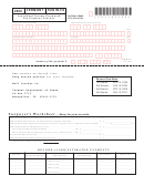 Form In-114 - Individual Income Estimated Tax Payment Voucher - 2009