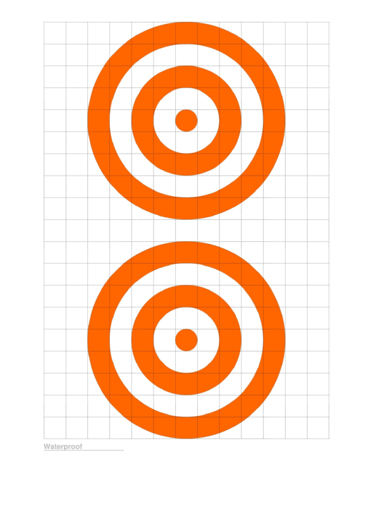 Top 5 Paper Targets Templates free to download in PDF format
