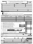 Form 1040-ss - U.s. Self-employment Tax Return (including The Additional Child Tax Credit For Bona Fide Residents Of Puerto Rico) - 2016