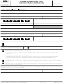 Form 8508-i - Request For Waiver From Filing Information Returns Electronically