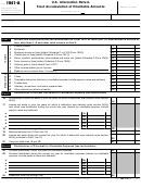 Form 1041-a - U.s. Information Return Trust Accumulation Of Charitable Amounts