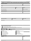 Form Cms-10455 - Report Of A Hospital Death Associated With Restraint Or Seclusion