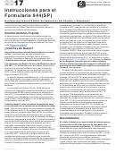 Instrucciones Para El Formulario 944(sp) - Declaracion Federal Anual De Impuestos Del Patrono O Empleador (spanish Version) - 2017