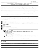 Form Ha-539-sp - Aviso Sobre La Substitucion De La Parte Interesada Tras El Fallecimiento Del Reclamante (spanish Version)